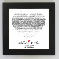 WORD ART - TYPOGRAPHY (unframed print) only 5.00