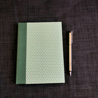 Classic A5 notebook journal - hand bound hardback