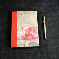 A5 hardback notebook with a cover for rose lovers