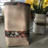 Fabric basket, storage box - Free shipping to the U.K.