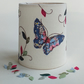 Butterflies Embroidered Lantern for BatteryTealight