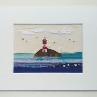 Lighthouse Embroidery