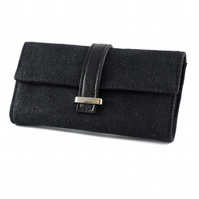 Black Recycled Purse