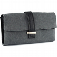Grey Recycled Purse