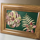 Hand crafted framed flower gifts