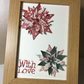 Hand crafted 3D framed flower gift