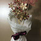 Posy of hand crafted Christmas flowers