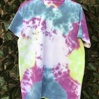 Kids tie dye multi coloured T-shirt age 12-13