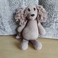 Crochet dog toy