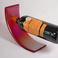 Fused Glass Wine Bottle Holder