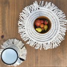 Macrame placemats - set of 4