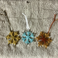 Snowflake Christmas tree hanging decorations