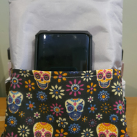 Handmade Fabric Book Tablet Sleeve with Pocket