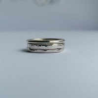 Stacking rings - made by hand
