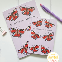 Butterfly, Butterflies, Notebooks, Notebook, Journals, Recycled, Lined pages