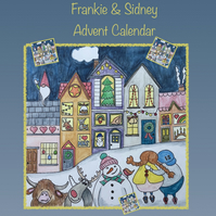 Advent Calendar Felted Picture Kit