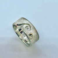 Crest of a Wave Ring