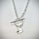 Heart Fob Necklace