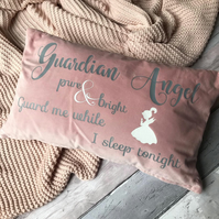 Guardian Angel throw cushion