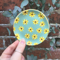 Sunflower Dish - Sunflower - Trinket Dish