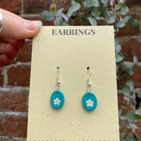Floral Dangle Earrings - Dangle Earrings - Customisable Earrings