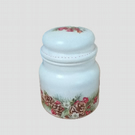 Candle in a jar, Decoupage 'Christmas theme'