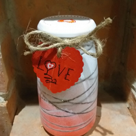 Decorative Light up Jar giving a Romantic feeling to any room