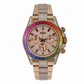 Rolex Cosmograph Daytona Factory Diamond Rainbow Edition Rose Gold Watch