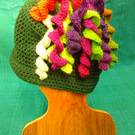 Curlybobble hat
