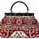EXQUISITE Firebird Light - Mary Poppins Victorian Small Classic Carpet Bag