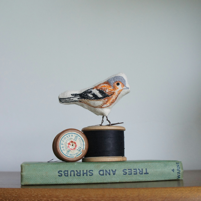Chaffinch sculpture