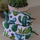 Make up bag Boxy bag Cosmetic bag Toiletry bag Travel bag Zipper bag