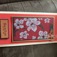 Oriental inspired greetings card