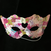 Cat Decopatched eye mask
