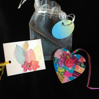 Have a heart in a gift bag