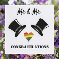 LGBTQ Wedding Card - FREE Postage