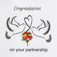 LGBTQ Plus Wedding Card - FREE Postage