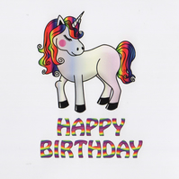 LGBTQ Plus Birthday Card - FREE Postage