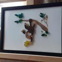 Quilled Monkey