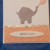 With love Girls Card