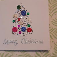 Delicate Christmas Card