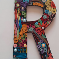Customised Quilled Letters