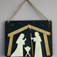Silent Night - Nativity scene plaque