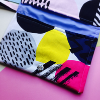 Splash of Colour Nappy Clutch Bag