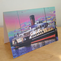 'Maid of the Loch' fine art card