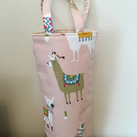 Bottle Gift Bag Llamas Alpacas