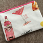 Lace Zipped Pouch Gin and Tonic