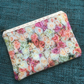 Lace Zipped Pouch Roses