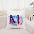 Personalised Girls Cute Mermaid Cushion Cover Baby Shower Gift