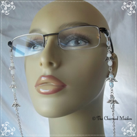 Angels Spectacle Glasses Chain, Beaded Guardian Angel Sunglasses Cord